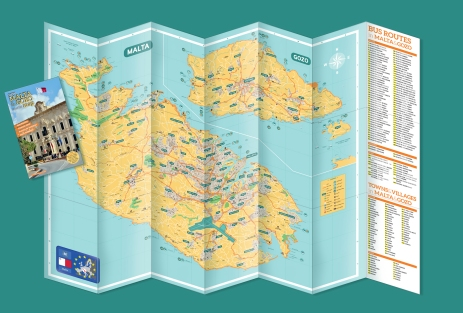 the unfolded map (one side)